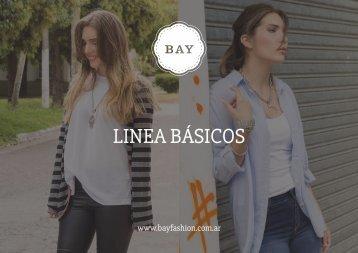 Catálogo BÁSICOS - Bay Fashion OI17