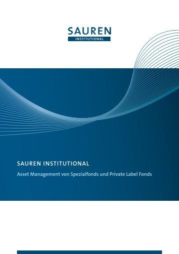 sauren institutional bietet bewährte dienstleistungen für höchste ...