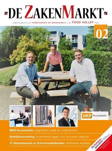 De ZakenMarkt FoodValley regio nr. 2