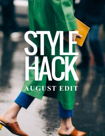 August Edit Preview