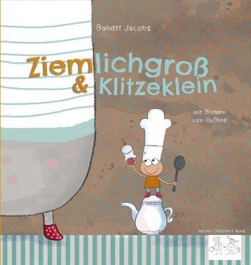 Leseprobe Ziemlichgroß u Klitzeklein Bilderbuch JCB