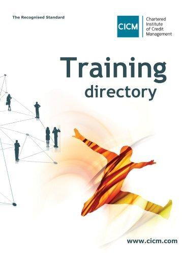 CICM Training Directory