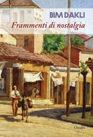 BIM DAKLI - FRAMMENTI DI NOSTALGIA