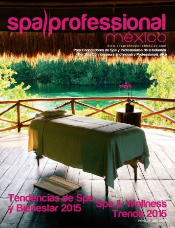 Spa & Wellness MexiCaribe 17, Primavera 2015
