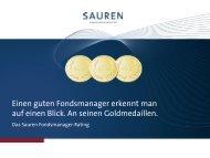 Fondsmanager-Rating für Fondsgesellschaften [PDF] - Sauren