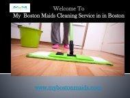 Boston Maids service