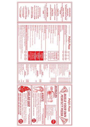 POLLYS a0 wall menu