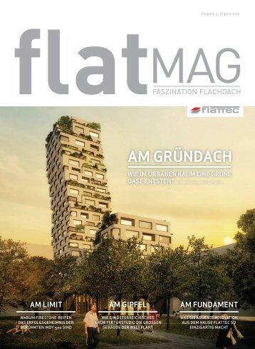 FLATMAG Faszination Flachdach (Ausgabe 4)