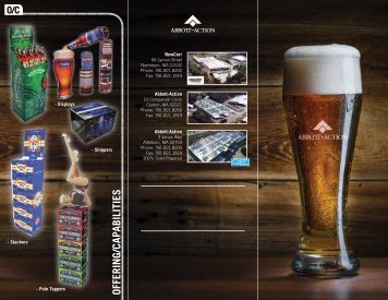Microbrew Brochure (Generic)