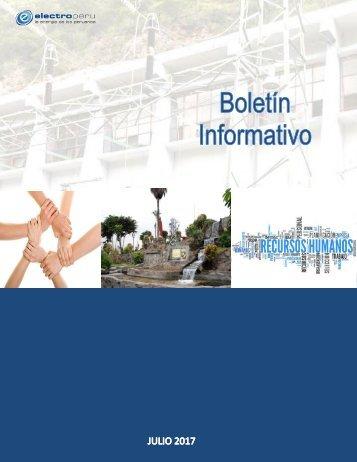 BOLETIN INFORMATIVO- JULIO agosto