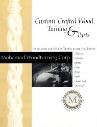 MWT Custom WoodWork Catalog