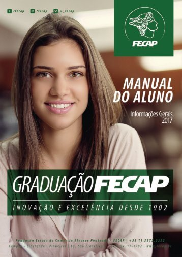 Manual do Aluno FECAP - 2º Semestre de 2017