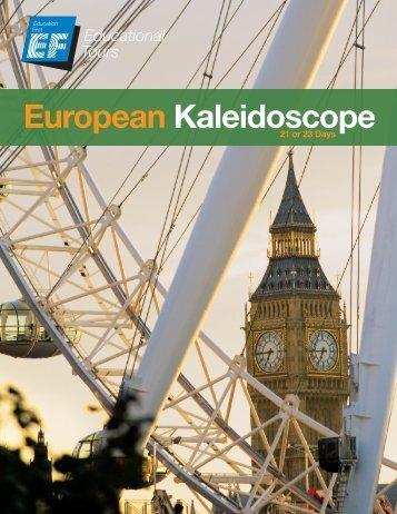 European Kaleidoscope - EF Tours