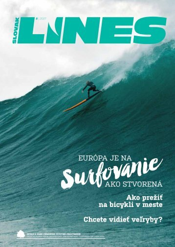 In Drive magazín Slovak Lines 8/2017