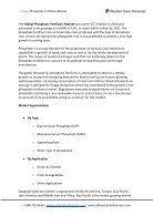 Global Phosphatic Fertilizers Market - Page 2