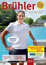 Brühler Markt Magazin Juli 2017