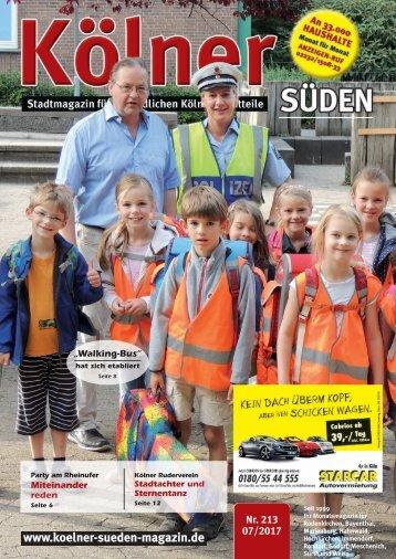 Kölner Süden Magazin Juli 2017