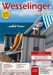 Wesselinger Stadt Magazin Juli 2017
