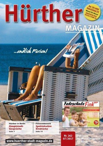 Hürther Stadtmagazin Juli 2017