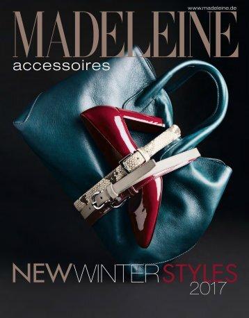 Каталог Madeleine Accessoires осень-зима 2017. Заказ обуви на www.catalogi.ru или по тел. +74955404949