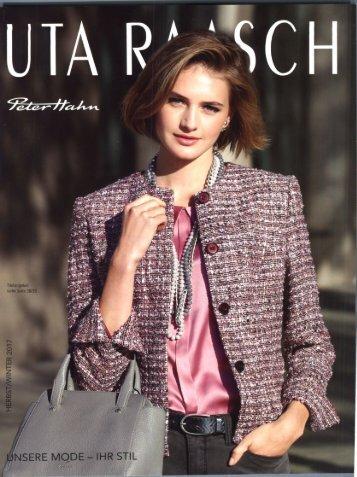 Каталог Uta Raasch осень-зима 2017. Заказ одежды на www.catalogi.ru или по тел. +74955404949