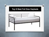 Top 9 Best Full Size Daybeds