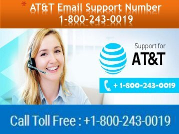 AT&T Email Support Number