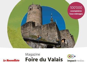 MAGAZINE Foire du Valais - sans early