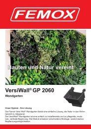 Prospekt FEMOX VGP Wandgarten Wandbegruenung