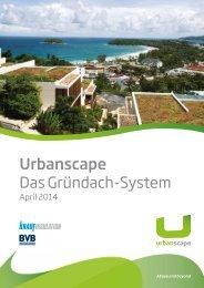 Urbanscape-Dachbegrünung -Prospekt www.dachbegruenung-material.de