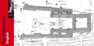 Plan / Information English - Musée du Louvre