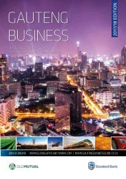 Gauteng Business 2017-18 edition