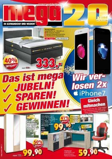 Das ist MEGA: Jubeln, Sparen und Gewinnen: wir verlosen 2 iPhone7!