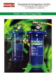 Aktivkohlefilter RADEX E.pdf - Sapi Sandstrahl und Anlagenbau ...