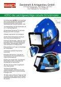 Schutzmaske ASTRO - Sapi Sandstrahl und Anlagenbau GmbH - Seite 2