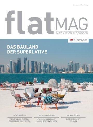 FLATMAG Faszination Flachdach (Ausgabe 1)
