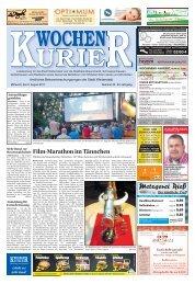 Wochen-Kurier 32/2017 - Lokalzeitung für Weiterstadt und Büttelborn