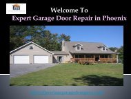 Garage Door installation Phoenix