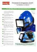Schutzmaske Astro E - Sapi Sandstrahl und Anlagenbau GmbH - Page 2