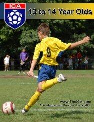Programa de treinamento  13 a 14 anos