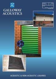 acoustic & non-acoustic louvres galloway acoustics