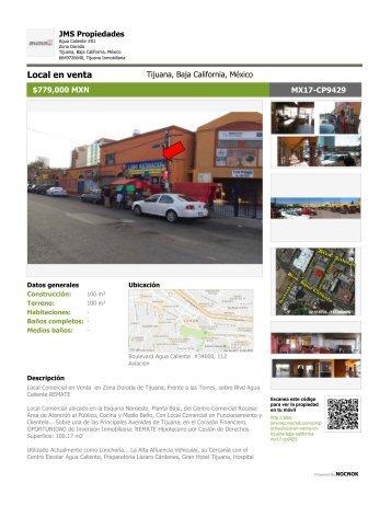 Local Comercial en Venta en Zona Dorada de Tijuana, Frente a las Torres - MX17-CP9429_Details