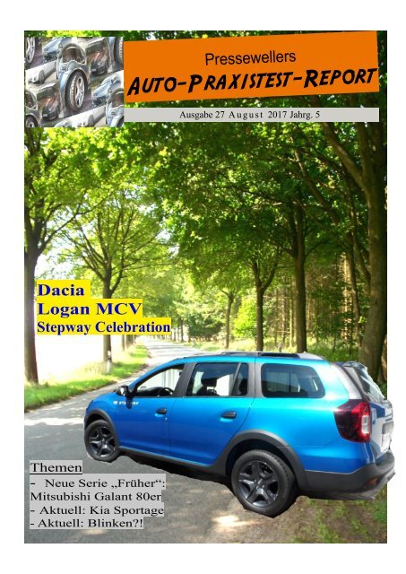 Auto-Praxistest-Report 27