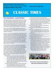 Classic Times Newsletter Q3 2017