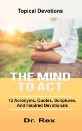 THE MIND TO ACT (1)