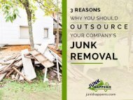 Why Should Companies Hire Junk Removal Services