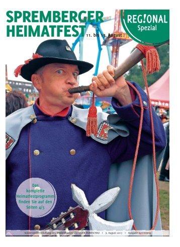 Regional Spezial – Spremberger Heimatfest vom 11. bis 13. August