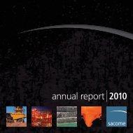 SACOME Annual Report 2009-10