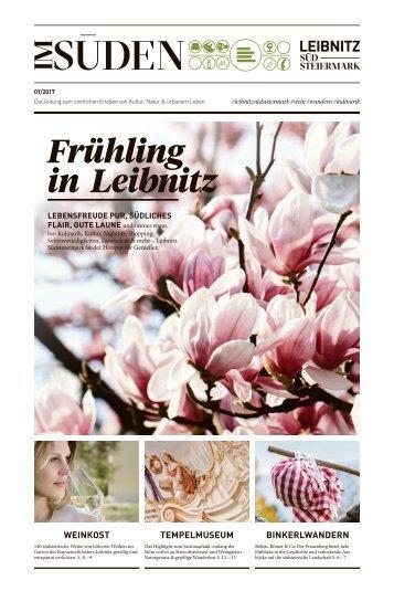 Newspaper Im Süden Frühling