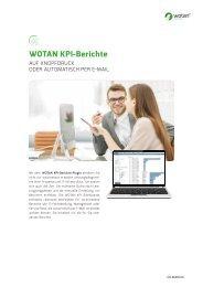 WOTAN KPI Berichte - Ihre IT Kennzahlen stets im Blick